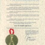 PIFD2012 Proclamation USA WI